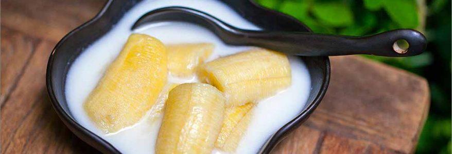 กล้วยไข่บวชชี – Banana in Coconut Milk