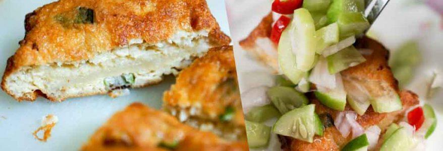 Minced Pork Toast – ขนมปังหน้าหมูสูตรไม่ทอด